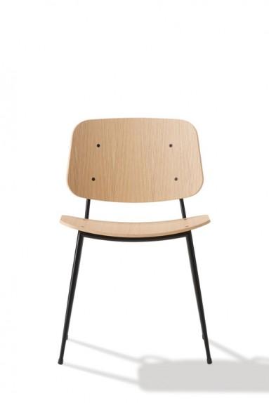 Børge Mogensen - Søborg Chair - Steel frame
